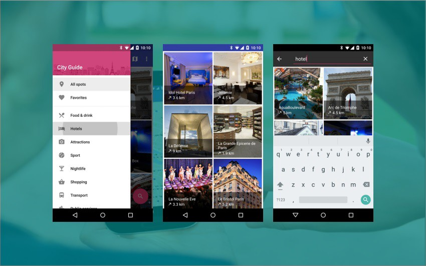 Do you think mobile app design templates are the effective options for you?